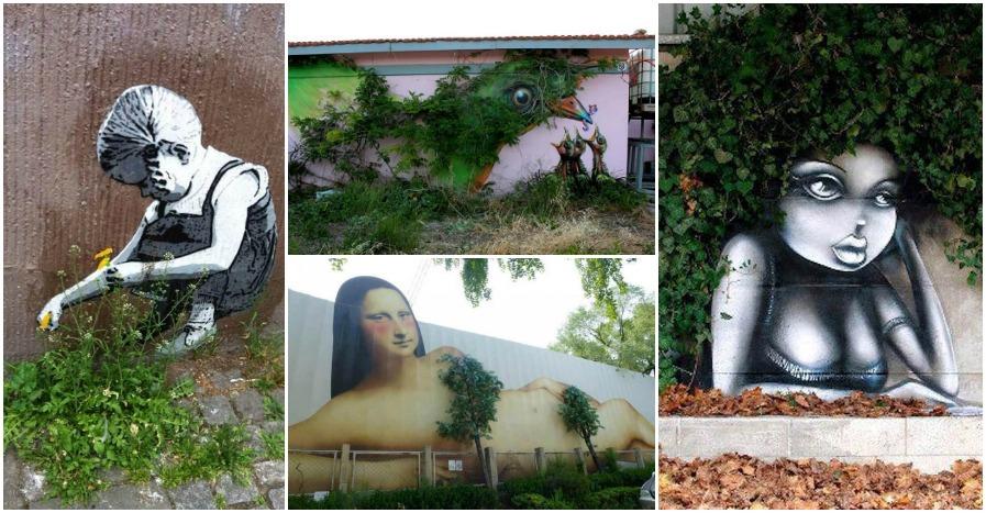 Street Art Nature Feat