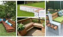 13 Wonderful Benches You Will Strive To Have In Your Backyard!