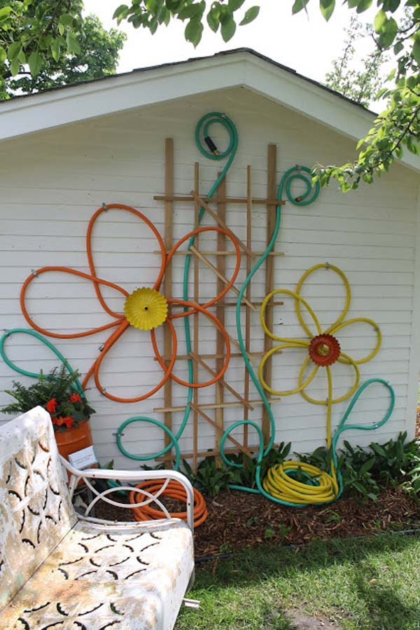 DIY Garden Art Flowers 04