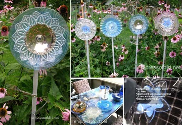 DIY Garden Art Flowers 10