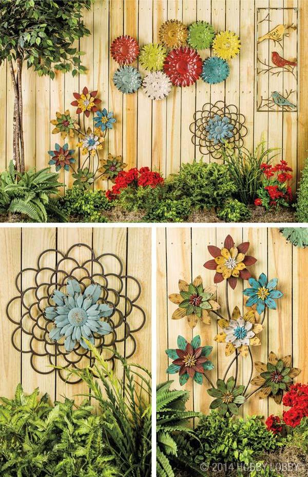 DIY Garden Art Flowers 14