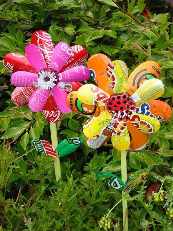 DIY Garden Art Flowers 18