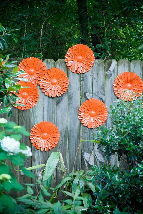 DIY Garden Art Flowers 19