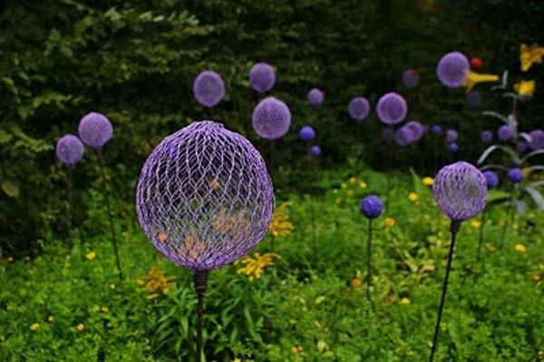 DIY Garden Art Flowers 20