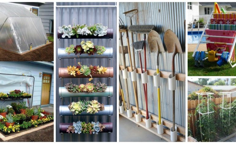 DIY PVC Pipes Projects Feat