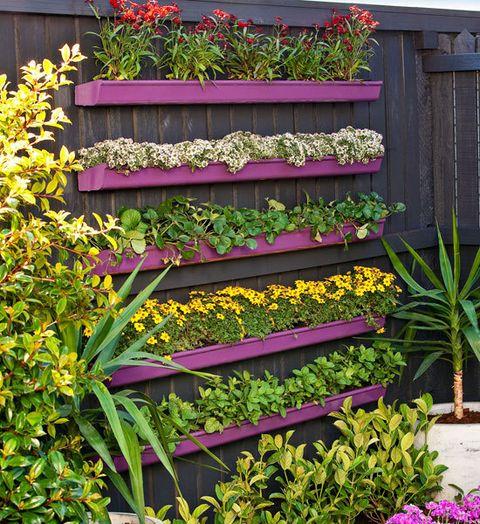 Gutter Garden Ideas 08