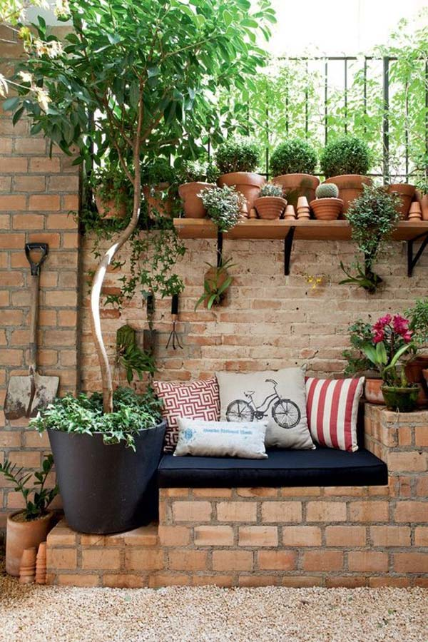 Landscaping ideas using bricks : Diy ideas for creating garden or backyard projects using old bricks