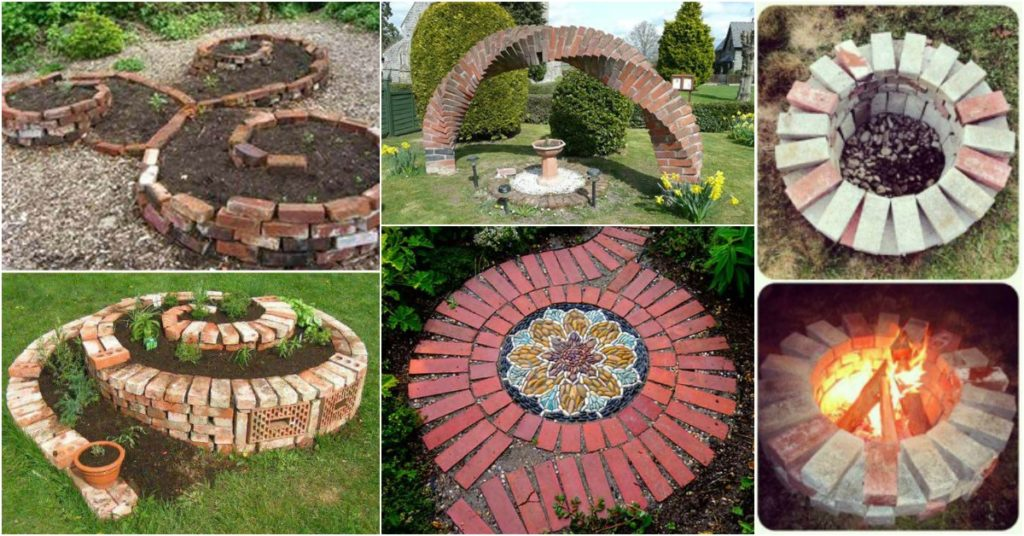 Cool diy ideas for creating garden or backyard projects for Diy brick projects