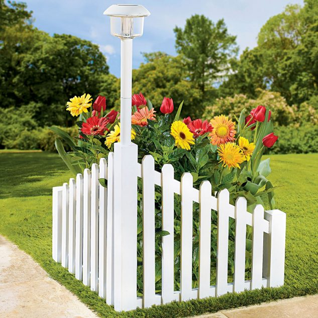 White Picket Fence Flowers