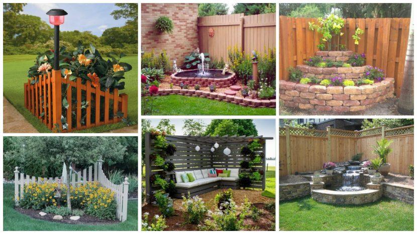 Yard Fence Decor