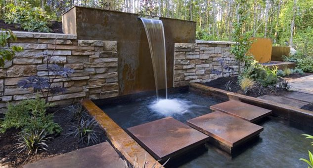 Superior Outdoor Water Wall Fountain 2 78 Best
