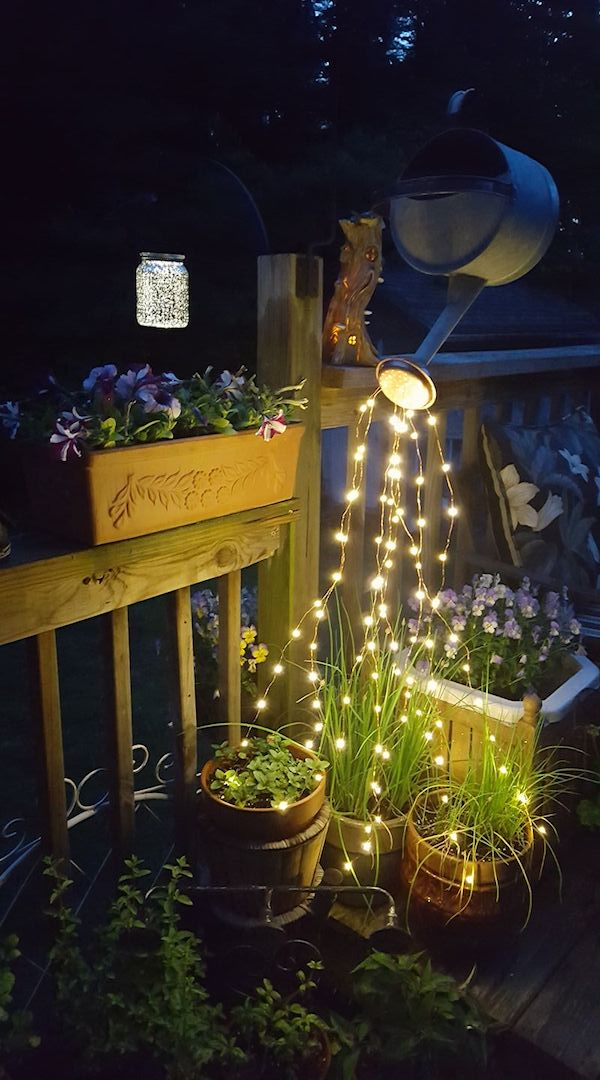 Decorate Your Garden With This Awesome Diy Glowing