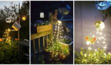 Decorate Your Garden With This Awesome DIY Glowing Watering Can