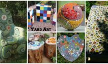 10 Beautiful Garden Mosaic Projects