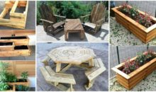 Re-purposing Plans for Shipping Wood Pallets