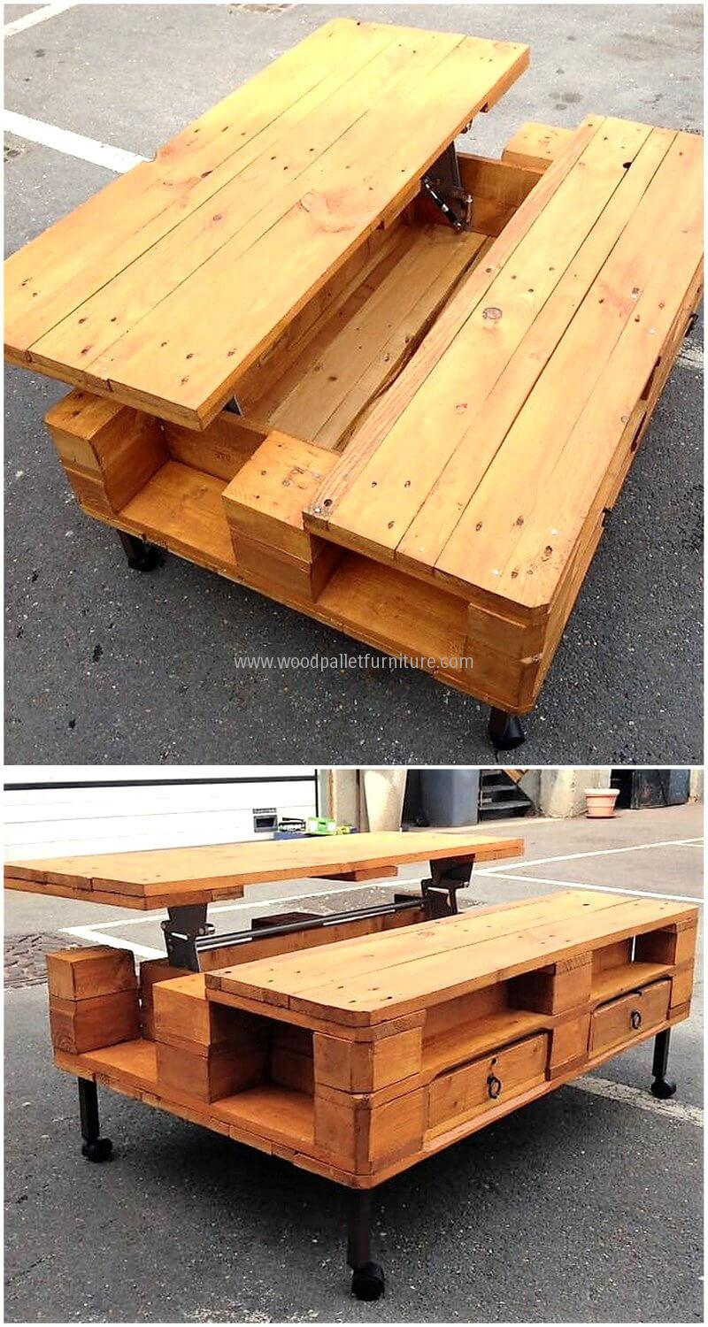 16 Ingenious Plans For Re Purposing Old Wooden Shipping Pallets