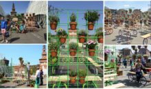 Use This Milan's Urban Garden On Wheels Idea At Your Home!