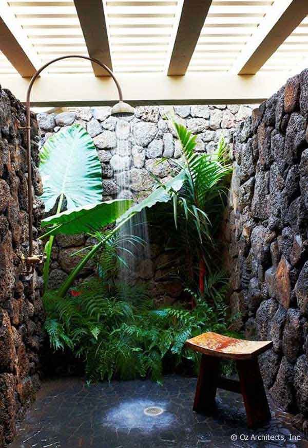 Spice Up Your Backyard With These 17 Cool Outdoor Showers on Backyard:uuezyx-Hy-8= Landscape Design  id=19796