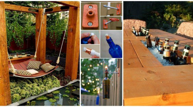 30+ DIY Ideas How To Make Your Backyard Wonderful This Summer