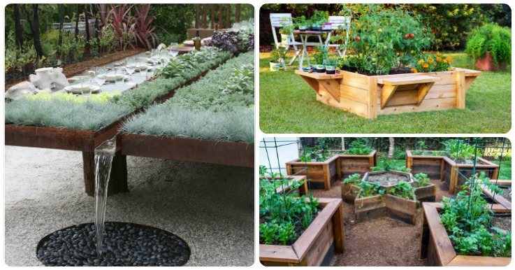 Look At These 12 Unique Amp Fun Raised Garden Bed Ideas