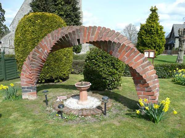 Cool DIY Ideas For Creating Garden or Backyard Projects ... on Backyard Masonry Ideas id=77034