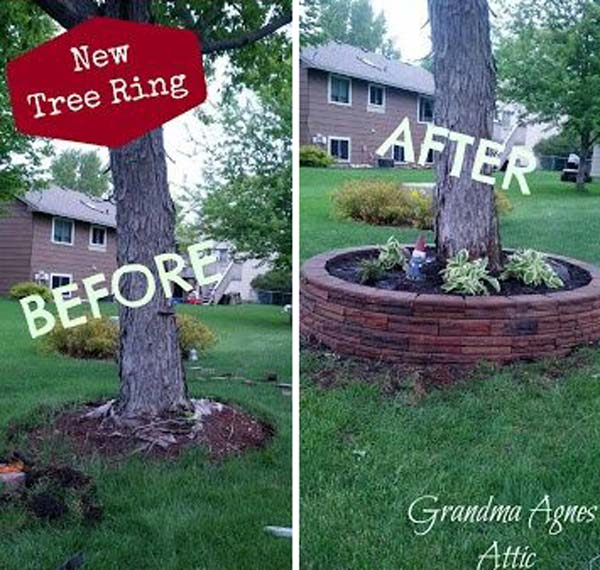 Cool DIY Ideas For Creating Garden or Backyard Projects ... on Brick Ideas For Backyard id=49772