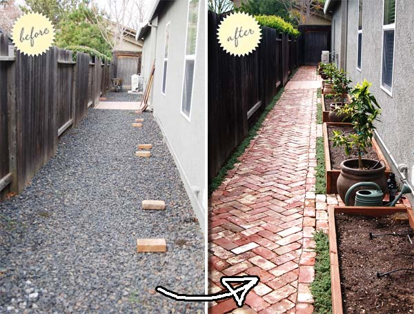 Cool DIY Ideas For Creating Garden or Backyard Projects ... on Brick Ideas For Backyard id=61005